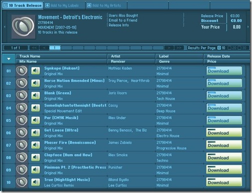 beatport.com musik gratis download