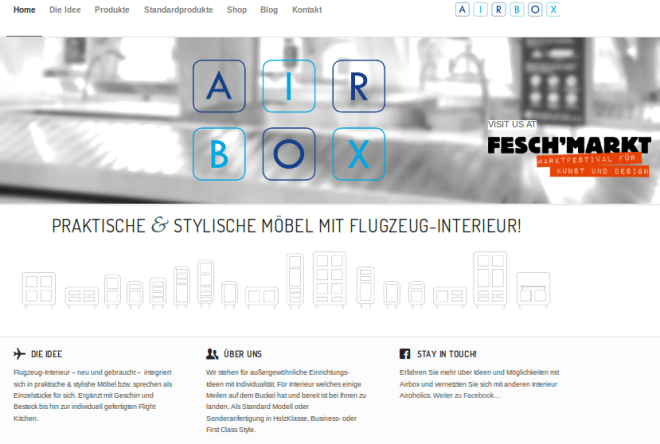 airbox website screenshot